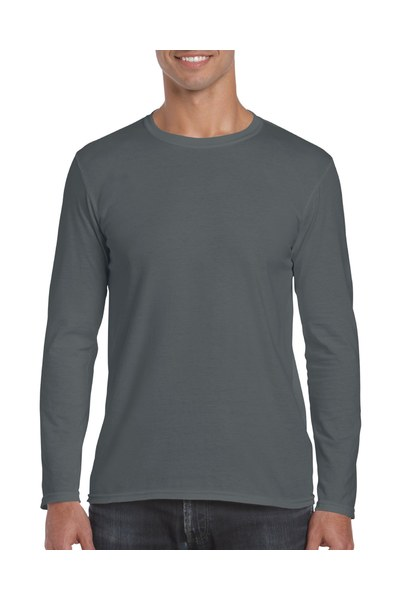 Resized 64400 adult long sleeve t shirt charcoal