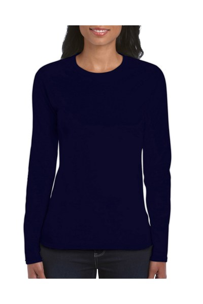 Resized 64400l ladies long sleeve t shirt navy